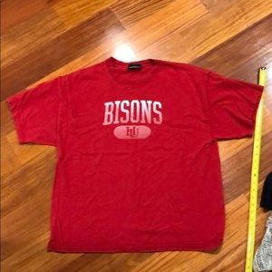 new products c77ae 6e9d2 Howard University Bison screen printed T-shirt